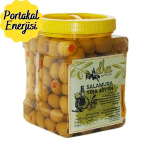 Vitamin Dolu Portakal Dolgulu Zeytin